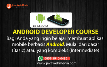 Kursus Android (Android Developer Course)